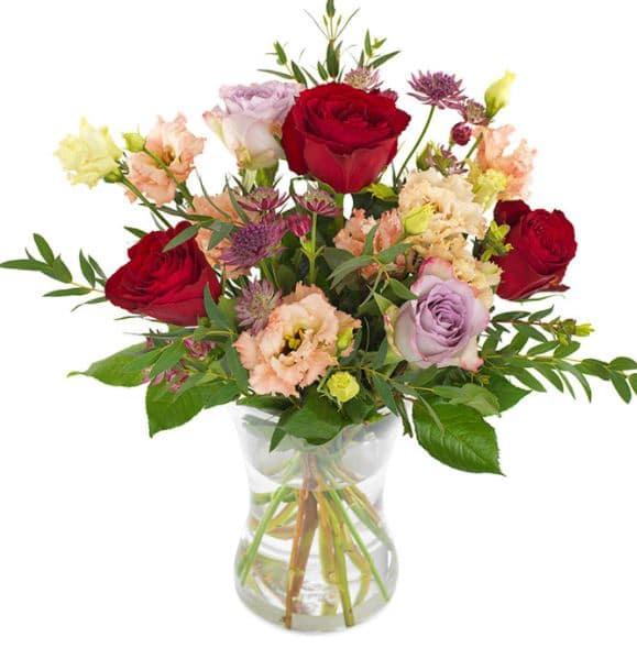 Så här skickar du blommor i Lund